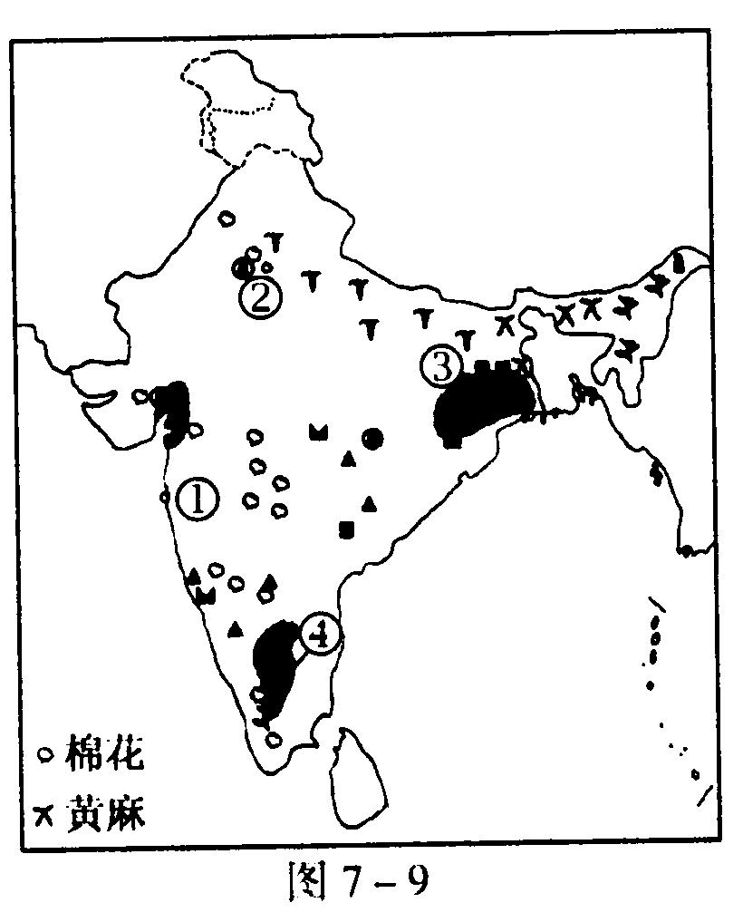 印度地形图简笔画